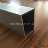 6063T5铝方管 大口径铝方管
