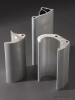 Aluminum extrusion products for power engineering