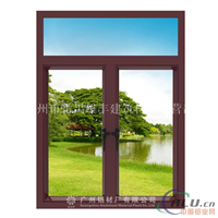 50门窗铝材 铝合金平开窗型材
