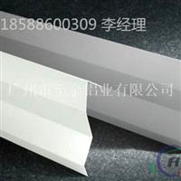 襄樊市大夏走廊片状铝挂片效果