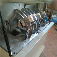 铝合金型材门窗角码自动切割锯床