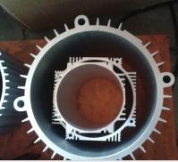 大型鋁合金電機殼生產加工