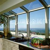 陽光房 玻璃陽光房 彩鋼板頂陽光房