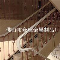 大量供應鑄造鋁合金立柱樓梯欄桿