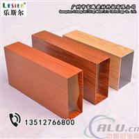 广东木纹铝方管50x100铝方管价格