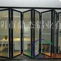 精加工设计高档铝合金折叠门型材