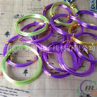 彩色氧化铝线 DIY编织原材料 厂家直销