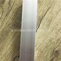 6063氧化铝方管 本色铝合金管材