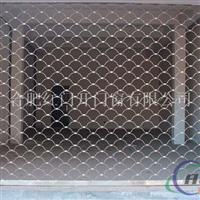 供应铝合金网型门定做