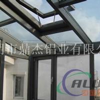 专业生产55系列隔热断桥铝型材,内开上悬窗