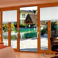 铝包木窗纱一体窗丨铝包木金刚网一体窗户