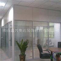 现货供应玻璃隔断成品   玻璃门   质优