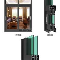 铝材厂家批发前进768系列铝合金门窗型材