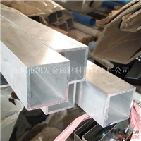 铝合金方管 6063铝方管 2060mm铝方管