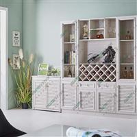 全铝柜体材料瓷砖橱柜太空铝浴室柜