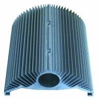 供应铝合金散热器 大截面翼型散热器