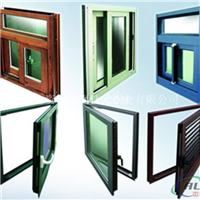 生产断桥铝门窗型材及成品