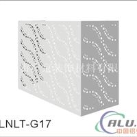 厂家定做雕刻铝单板空调主机保护罩