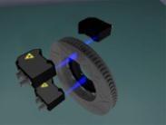 工业用激光扫描传感器