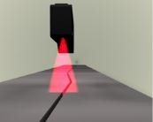 工业进口激光扫描传感器
