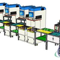 自动化伺服电机组装生产线