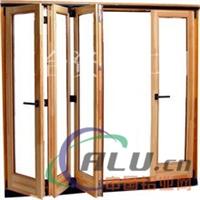 生产折叠门窗铝型材及成品制作安装