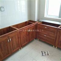 武汉铝合金橱柜安装方便么