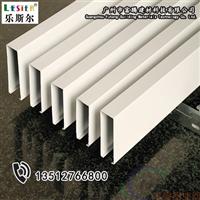 学校铝方通5x10白色铝方通价格