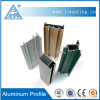 Power Coating 6063-T5 Aluminium Extrusion Profiles for Windows