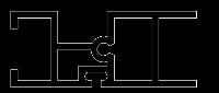 供应冰柜推拉门铝合金型材