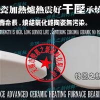 99氧化铝干压陶瓷承烧圆底板窑具φ108×2.5