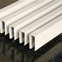 鋁合金鋁方通吊頂木紋鋁方通幕墻裝飾