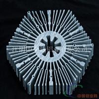 厂家直销大截面高难度工业铝型材散热器型材