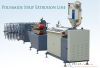Nylon insulation strip extrusion line