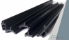 thermal break design extruded reinforced pvc profiles for aluminum