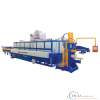 log heater with hot shear furnace