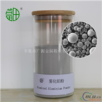 雾化铝粉可供炼钢、化工催化剂和焊条的临盆