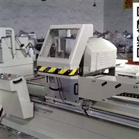 叶鲁隔热断桥铝型材45度双头切割机