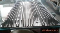 供应大型大截面散热器 电机外壳铝型材