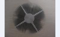 供应6063铝散热器 散热壳