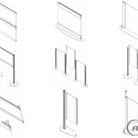供应各类边框铝型材 高端技术 品质优异