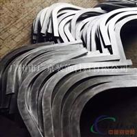 造型波浪铝方通吊顶U形铝方通天花