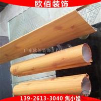 圆管铝方通圆柱型铝方管吊顶