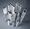 Various shaped aluminium profiles