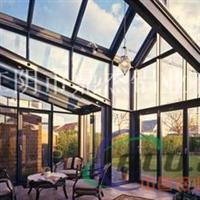 玻璃阳光房 铝合金阳光房 露台阳光房铝型材