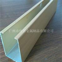 仿木紋鋁方通 室內外裝飾建材廠家