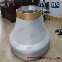 双曲面造型铝板厂家定制