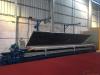 aluminum sheet silicon membrane wood grain effect machine