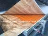 silicon membrane wood grain effect machine