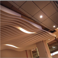 专业生产各种大厅室内弧形铝方通